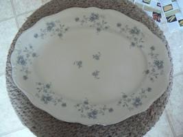 Johann Haviland Blue Garland 12 7/8 inch oval platter 3 available - $11.83