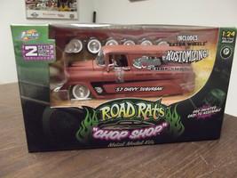 Jada Toys Road Rats Chop Shop 1957 Chevy Suburban 1:24 Rat Rod - $59.39