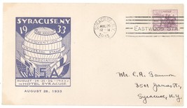 1933 Third Annual Convention Universal Stamp Association Cover! Syracuse NY - $4.99