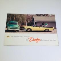 Vtg 1957 Dodge Cars and Trucks Custom Royal Series Lancer 4-D Car Auto B... - $10.65