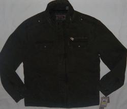 New Mens Levi's Milatary 5 Pocket Lined Cotton Jacket Size M Olive MSRP ... - $60.48