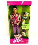 Totally Hair Ken Doll 1991 Mattel Model 1115 New in Box Barbie  - $67.31