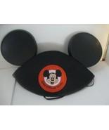 Walt Disney World Mickey Mouse Ears Hat Classic Black Infant Size Embroi... - $18.49