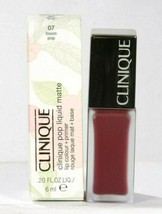 New Clinique Pop Liquid Matte 07 Boom Pop Lip Color & Primer Boxed Lip G... - $18.25
