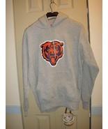 Chicago Bears Gray Hooded Sweatshirt Size Medium - $28.99