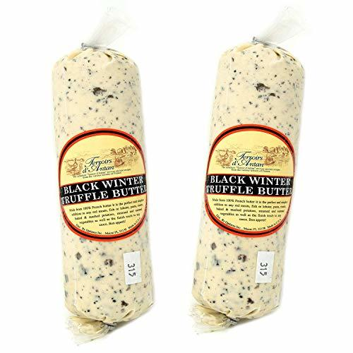Primary image for Black Winter Truffle Butter from France in Plastic Roll - 2 pack x 16 oz