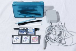 Nintendo 3DS Aqua Blue + Charger - Tested & Working - $246.51