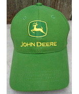 John Deere Green 100% Cotton Adjustable Cap - $20.00