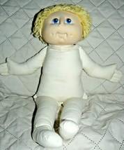 "1984 MN Thomas Yellow Yarn Hair stuffed plush doll 18"" - $31.22"