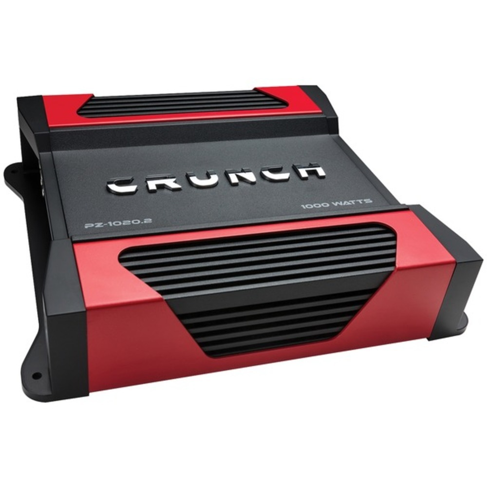 Crunch PZ-1020.2 POWERZONE 2-Channel Class AB Amp (1,100 Watts)