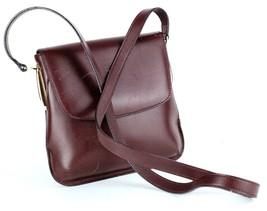 Etienne Aigner Agnes Burgundy Red Leather Mini Shoulder Bag Used - $79.20