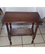 Solid Walnut Bookshelf Table / End Table  / Entry Table - $249.00