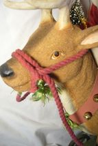 Bethany Lowe Vintage Santa Riding Reindeer image 4