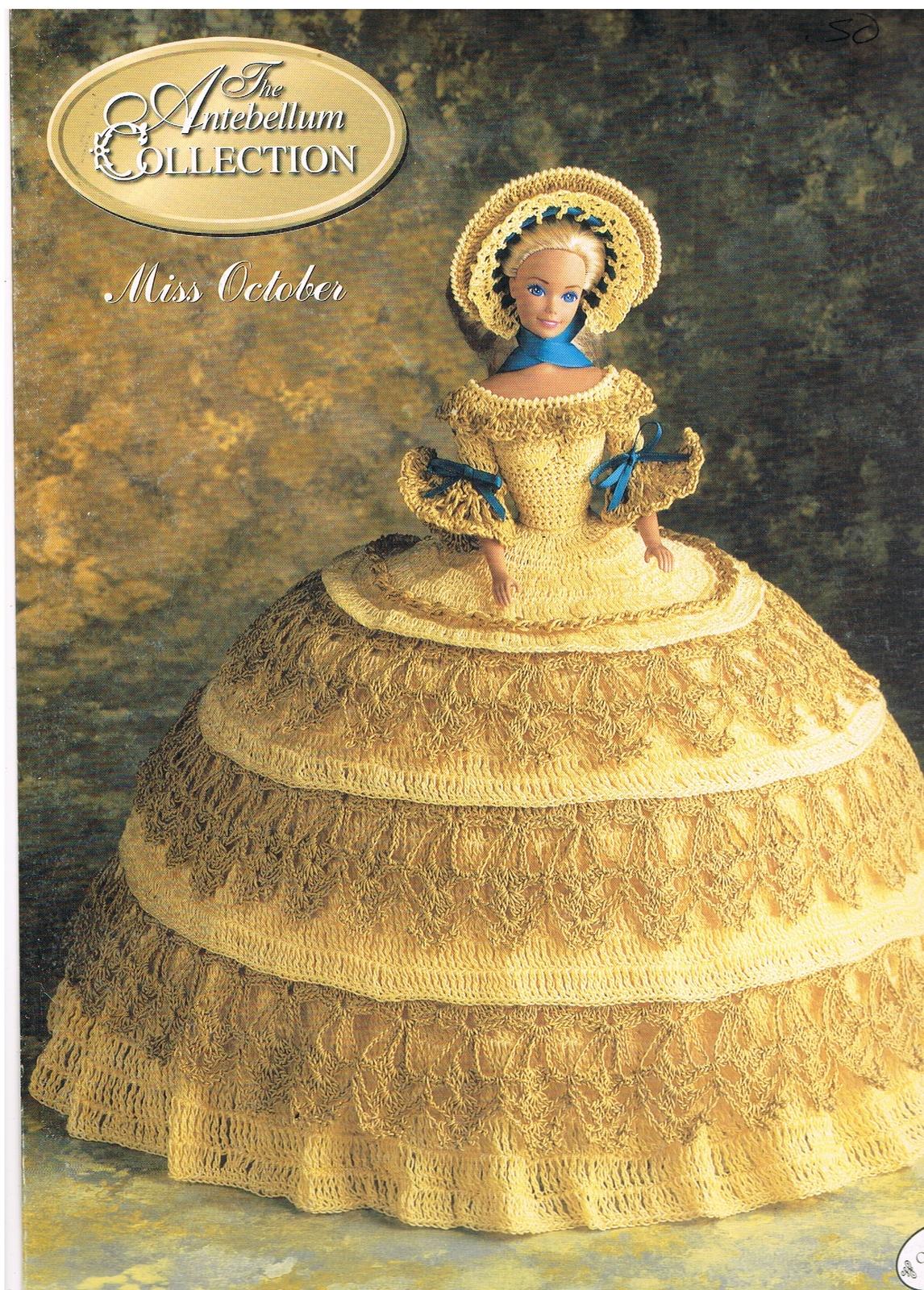 Crochet Doll Clothes Pattern - Doll Wedding Dress - Wedding Doll ... | 1600x1146