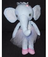 Mooshka Fairy Tales Ballerina Elephant Plush Stuffed Animal Zapf Creations - $18.78