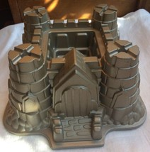 Nordic Ware Castle Bundt Cake Pan Magical Medieval Knight Game of Throne... - $16.83
