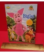 Disney Pooh Hardcover Book Biglet Fiction Picture Storybook Piglet Winni... - $5.69