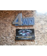 81-90 Toyota Land Cruise 4WD Genuine Emblem Badge 75431-90A00 YOTA YARD - $36.55