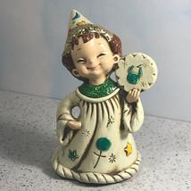 Josef Originals Wizard Elf Figurine Statue Zodiac Astrology Taurus Bull 1986 Hat - $29.65