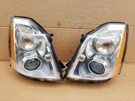 06-11 Cadillac DTS HID Xenon Headlight Head Light Lamp Set LH & RH -POLISHED image 1
