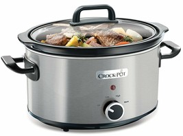 Cro K Pot CSC025X Pot Of Slow Cooker For 3,5 L, Compliant For Oven Silver - $288.30