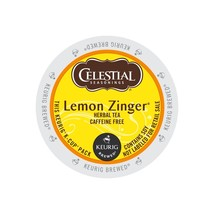 Celestial Seasonings Lemon Zinger Tea, 96 count Keurig K cups, FREE SHIP... - $64.99