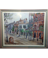 "Lucretia Restrepo Signed and Numbered Print ""Royal Promenade N.O."" Framed - $75.00"
