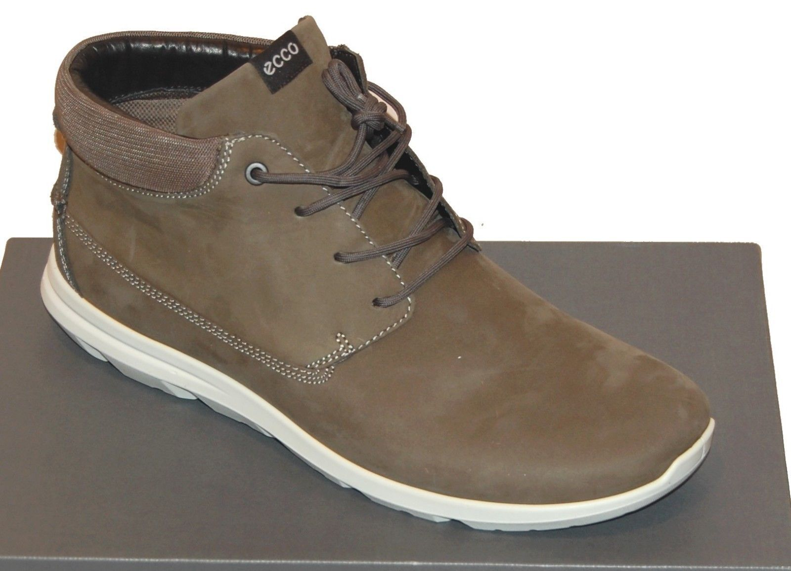 fe0525b5a86 Ecco Men Dark Shadow Casual High Top Fashion and 50 similar items. S l1600
