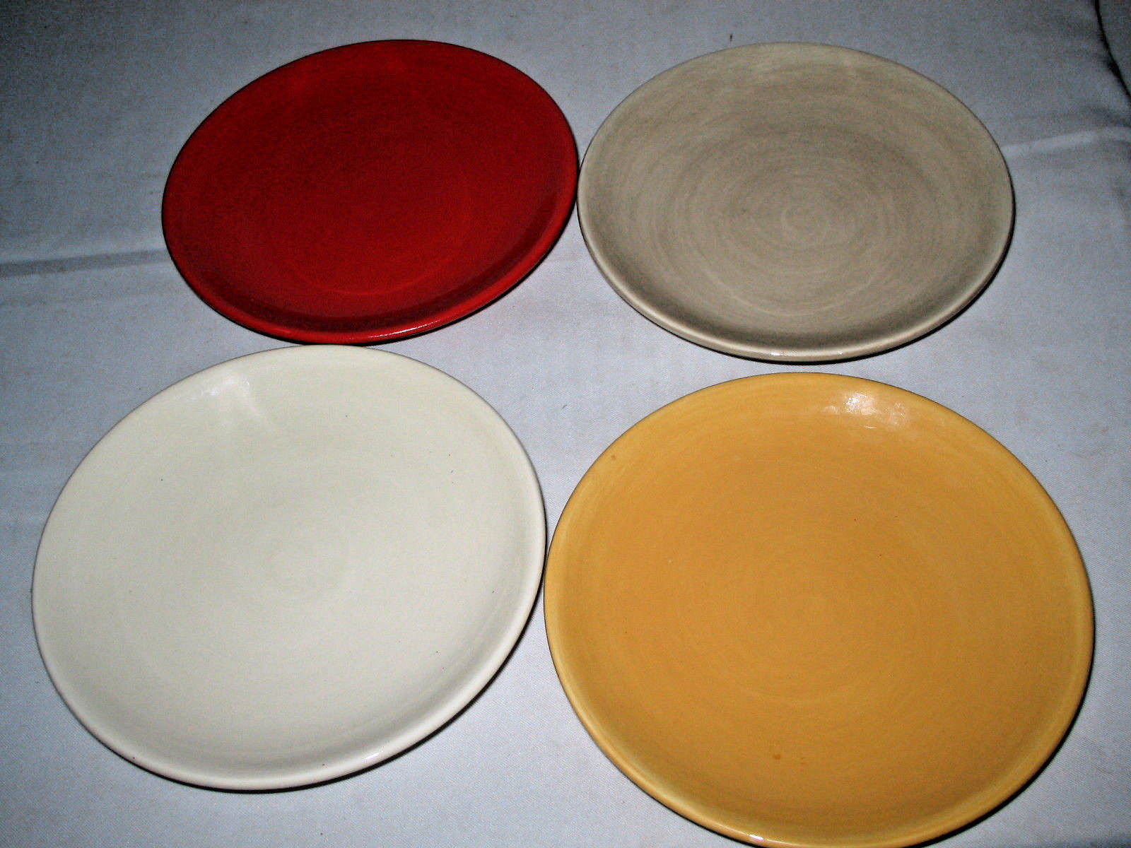 "Primary image for TABLETOPS UNLIMITED ""MISTO""  Canape Plate Dessert Plate 4-pc set"