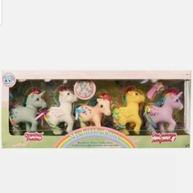My Little Pony Scented Ponies 35th Anniversary Remake Rainbow Collection Hasbro - $74.25