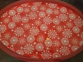 Christmas Platter Tray plastic upc 639277562722 - $12.82