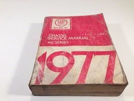 1977 Buick Factory OEM Chassis Service Manual All Series - $14.99