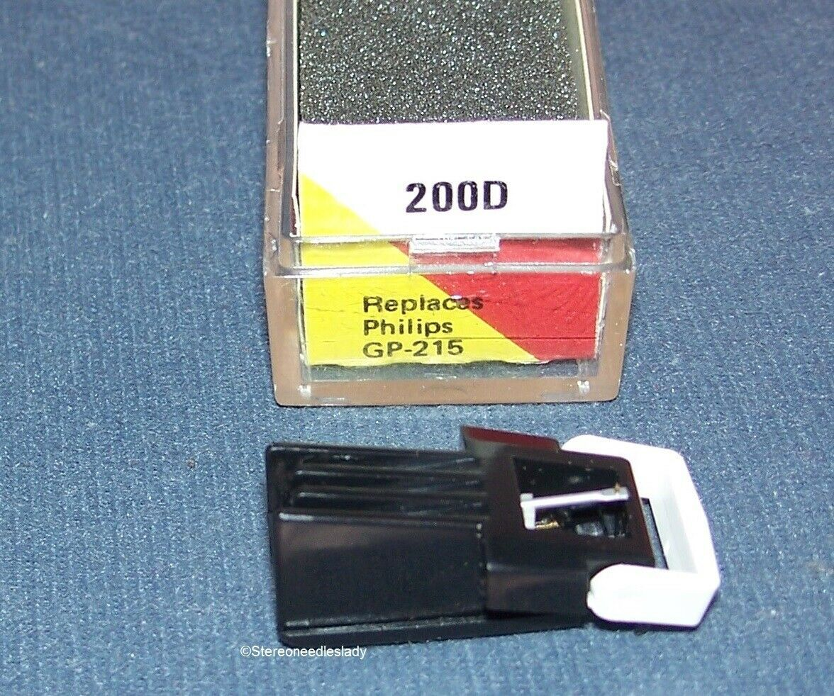 EV 200D TURNTABLE CARTRIDGE NEEDLE for PHILI​PS GP-214 Philips GP-215 EV 200D