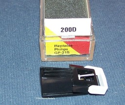 EV 200D TURNTABLE CARTRIDGE NEEDLE for PHILI​PS GP-214 Philips GP-215 EV 200D image 1