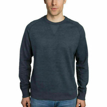 Champion Mens French Terry Crewneck Sweatshirt, Color: Navy, Size: Medium - $16.99