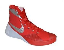 bccfb8c67470 Nike Nk Hyperdunk 2015 Red Silver Metallic Basketball Shoes Nwot Mns 18  Disc Htf -  89.99