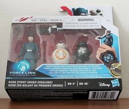 Star Wars Rose First Order Disguise Force Link Figure BB-8 BB-9E Toys Ne... - $12.87