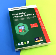 NEW! Kaspersky Internet Security Antivirus For 3 Devices - 1 year Licens... - $12.40