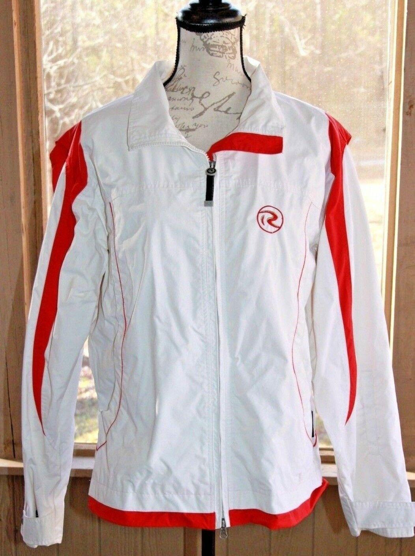 Rossignol Size XL Gore Tex White & Red Jacket Snowboard SKI Snow Women's (BA)