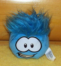 "Disney Club Penguin Plush Happy Blue 4"" Puffle Smiles For You - $6.95"