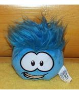 "Disney Club Penguin Plush Happy Blue 4"" Puffle Smiles For You - $6.95"