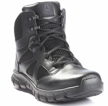 "Mens Reebok Sublite Cushion 6"" Tactical Boot  - Black [RB8606] - €83,00 EUR"