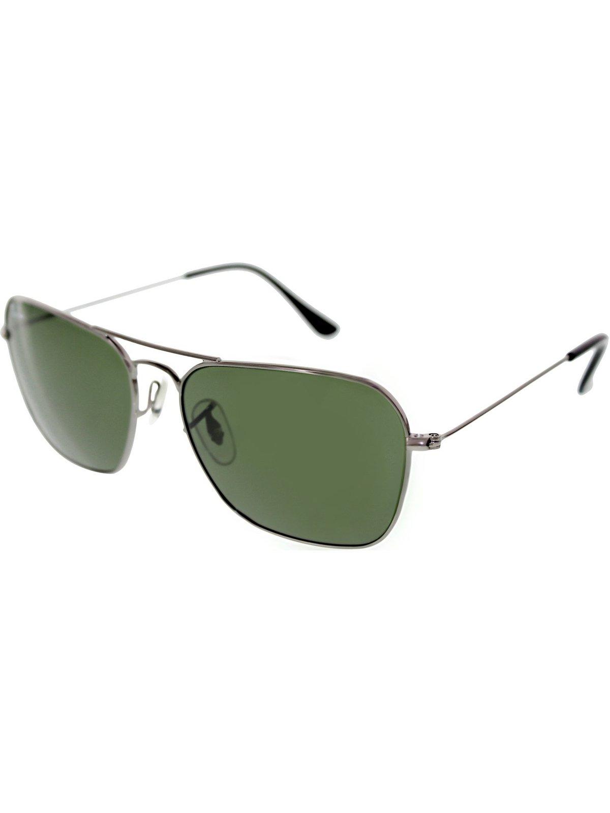 fb3b940b6c Ray-Ban Men's Caravan RB3136-004-58 Grey Square Sunglasses - $198.00