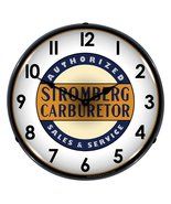 "Collectable Sign and Clock STROM1103307 14"" Stromberg Service Lighted Clock - $129.95"