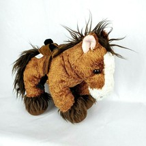 "Build A Bear 13"" Plush Horse With Removable Saddle BAB Stuffed Animal - $22.97"