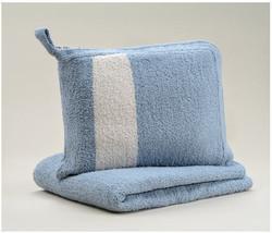 Kashwere Travel Throw Blanket - Silver Blue - $78.00