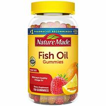 Nature Made Fish Oil Gummies, 150 Ct Value Size with 57 mg Omega-3s EPA ... - $34.25