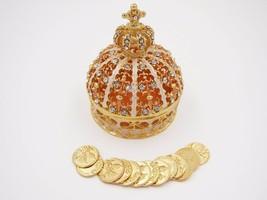 Elegant Gold Crown Wedding Arras de boda with 13 coins set GC01 - $29.65
