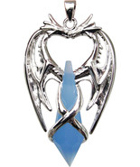 Double Dragon for Second Sight and Psychic Protection Pendant - $49.49