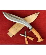 "BRITISH GURKHA IRAQ OPERATION KHUKURI KHUKRI KUKURI KUKRI KNIFE 13 "" FULL TANG  - $86.97"